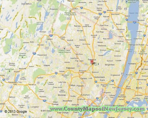 Bergen County New Jersey Map - Map of nj counties