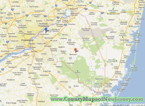burlington-county-map