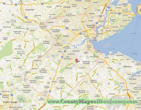 middlesex-county-map