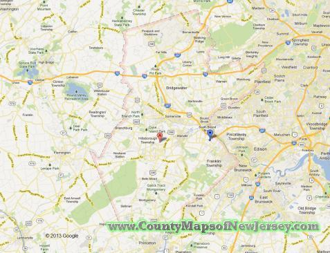 somerset-county-map